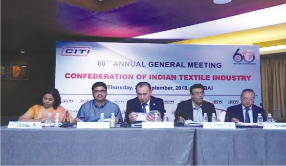 Textile trade body CITI re-elects office bearers